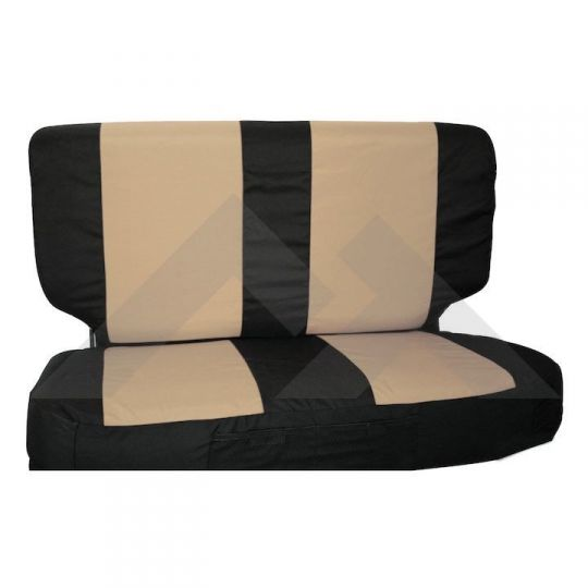 Prime Rear Seat Cover Set Black Tan Pdpeps Interior Chair Design Pdpepsorg